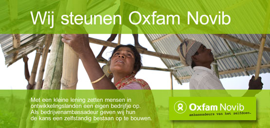 Idas BV is partner van Oxfam Novib